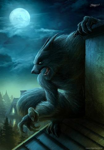 Werewolf Art Images, werewolf art, art,  Animal art, 3D art